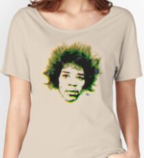 Psychedelic guitar god Women's Relaxed Fit T-Shirt