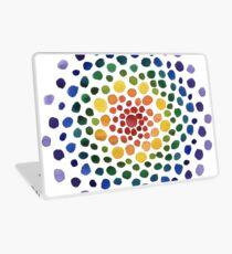 Circle Mosaic - Rainbow Laptop Skin