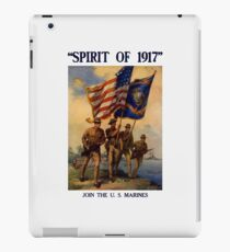 Join The US Marines -- Spirit Of 1917 iPad Case/Skin