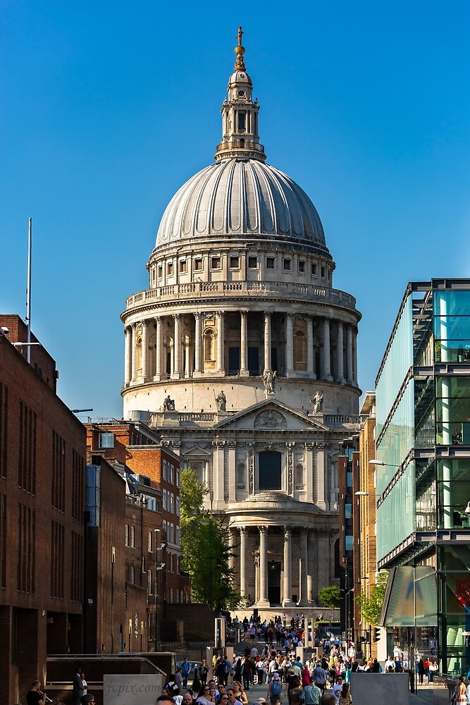 St Paul's Cathedral by John Velocci