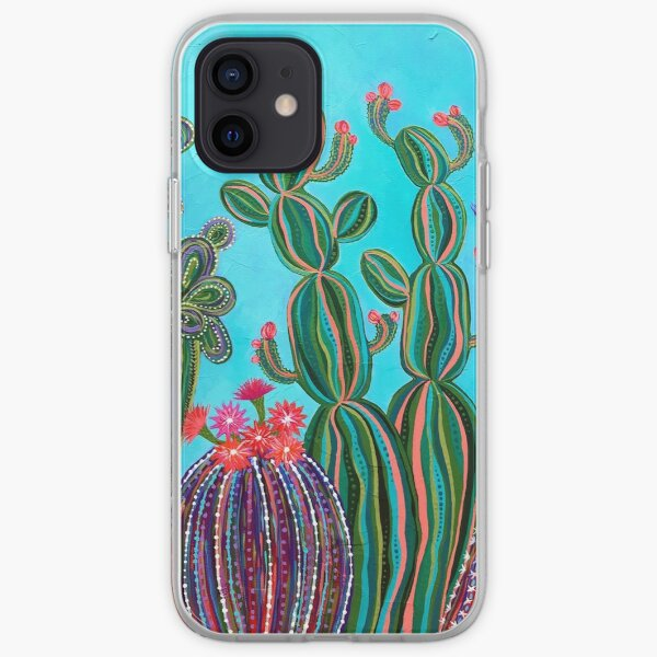 Cactus Party no.1 iPhone Soft Case