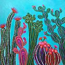 Cactus Party no.2 by Lisafrancesjudd
