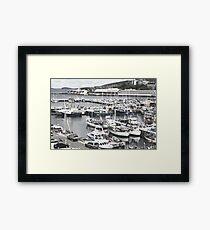 Constitution Dock, Hobart Framed Print
