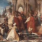 German Kaiser Frederick II in Palermo, 1220 by edsimoneit