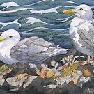 Gulls by Andrea Gabriel