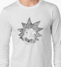RICK (white) Long Sleeve T-Shirt