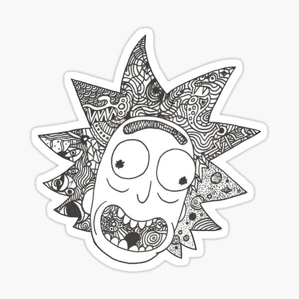 RICK (weiß) Sticker