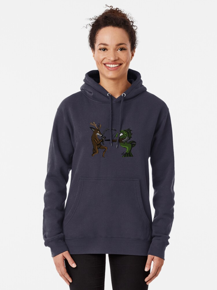 Alternate view of Huntin' an Fishin' Pullover Hoodie