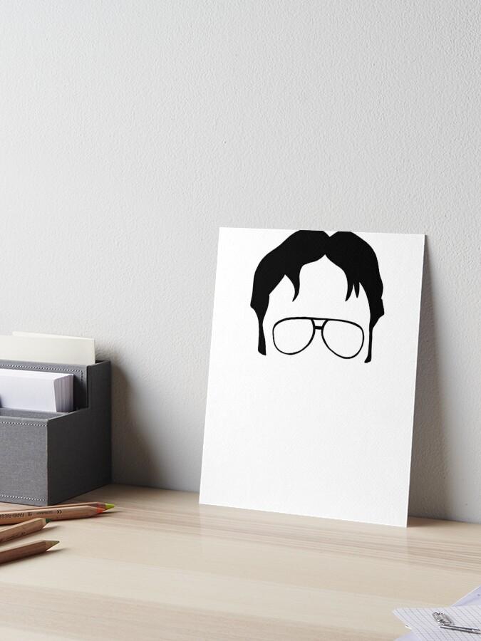 Battlestar Galactica Fine Art Print The Office Dwight Schrute Live Bears Beets