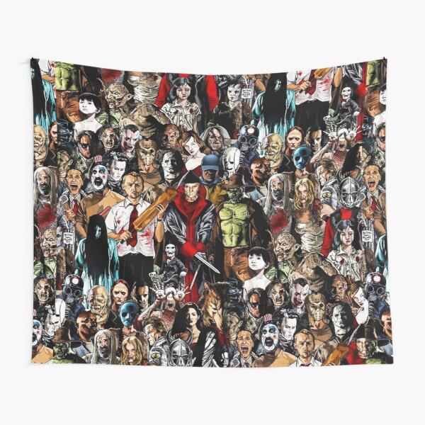Horror Collection Tapestry