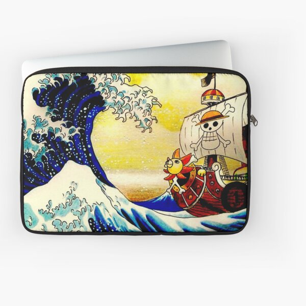 The Great Wave off One Piece Laptop Sleeve