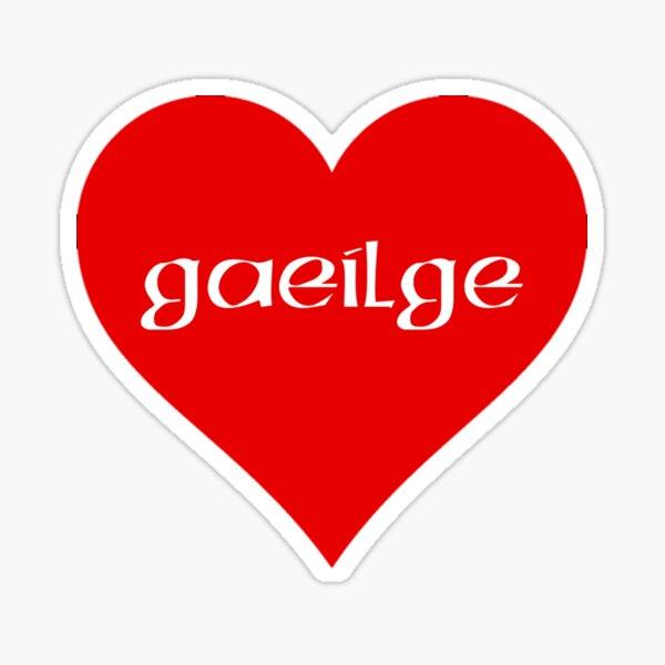 Gaeilge i chroí  Sticker