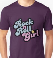 Camiseta ajustada Rock n 'Roll Girl