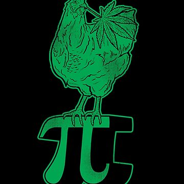 Funny Chicken Pot Pi Tee by japdua