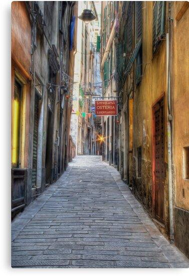 Alley Genoa by oreundici