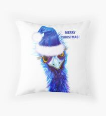Christmas Emu Floor Pillow