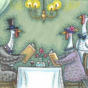 FINE DINING by SusanBrackArt