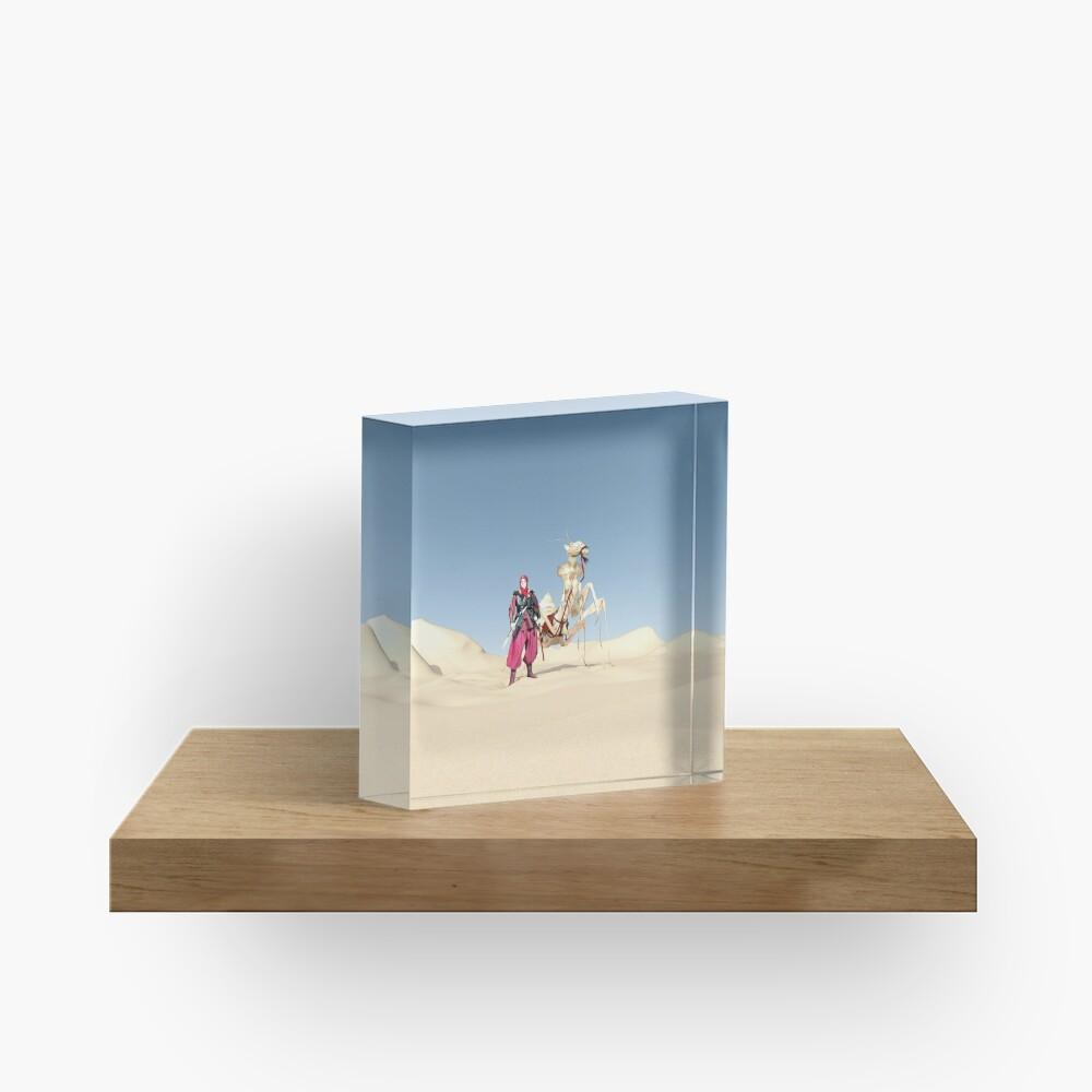 The dromedary Acrylic Block