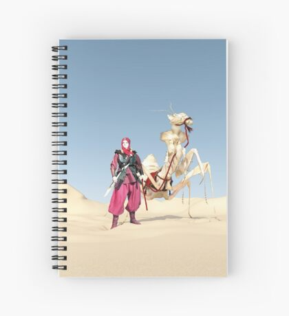 The dromedary Spiral Notebook