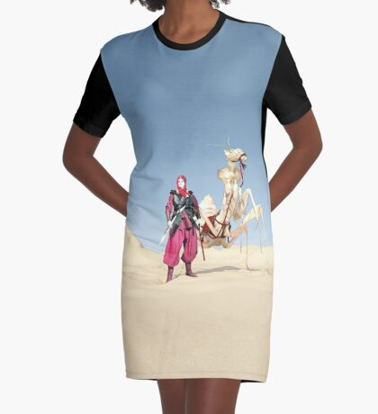 The dromedary Graphic T-Shirt Dress