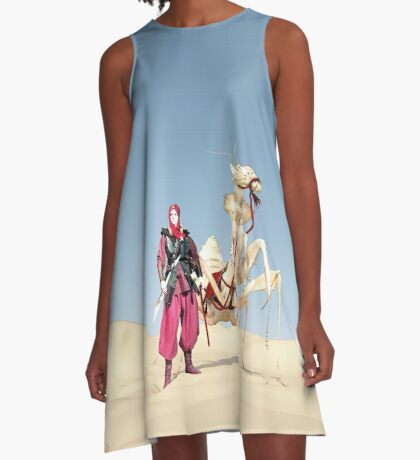 The dromedary A-Line Dress