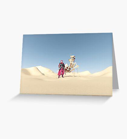 The dromedary Greeting Card