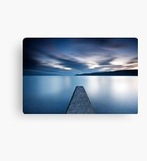 Time Passing - Runswick Bay, North Yorkshire Canvas Print