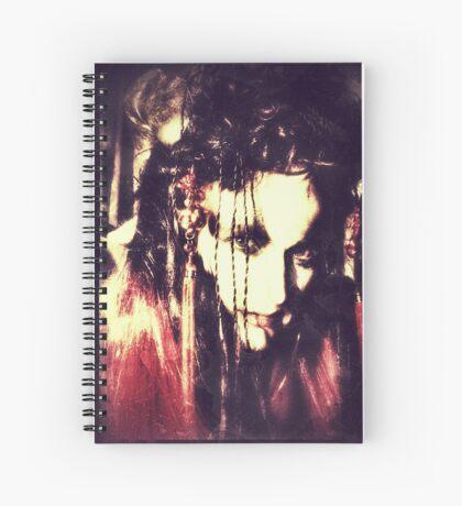 demon lady Spiral Notebook
