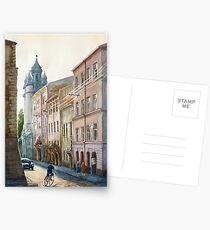 August in Lviv Postcards