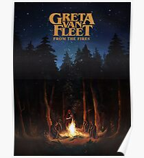 this is new Greta poster Van Fleet From the Fires top tranding Poster