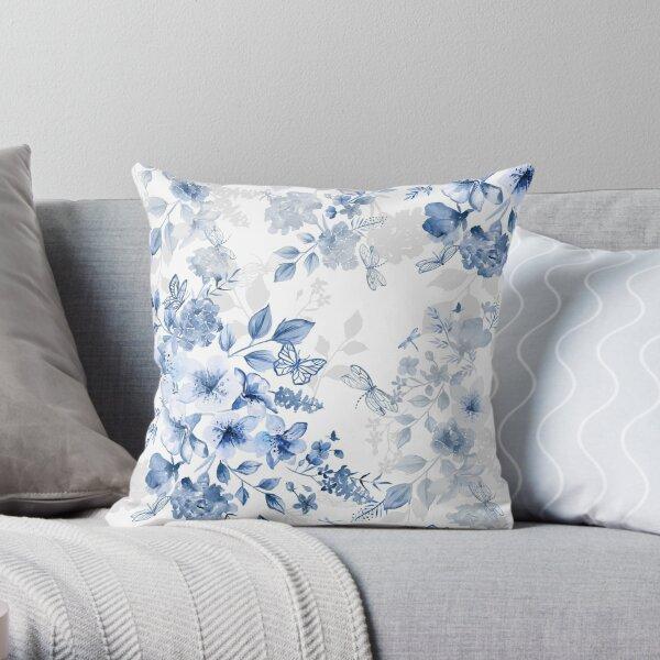 Italian Summer Chinoiserie Throw Pillow