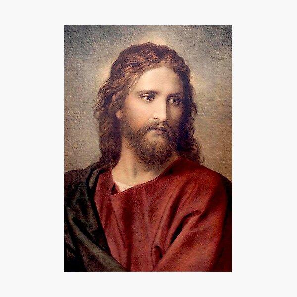 Vintage Heinrich Hofmann March 19, 1824 - June 23, 1911 Jesus Christ 1889 Photographic Print