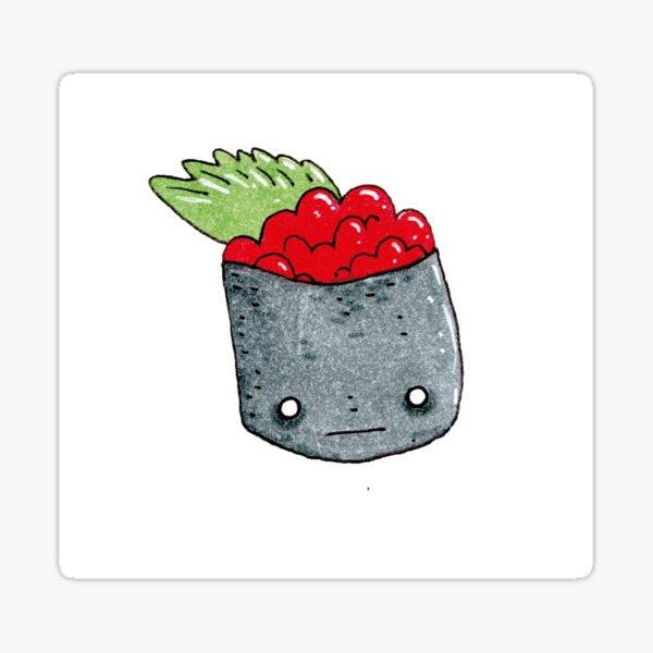 gunkan pieza de sushi kawai Pegatina