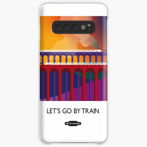 Let's Go By Train Samsung Galaxy Snap Case