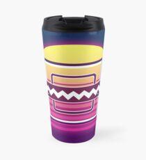 Frost Synthwave Rainbow Six Siege Travel Mug