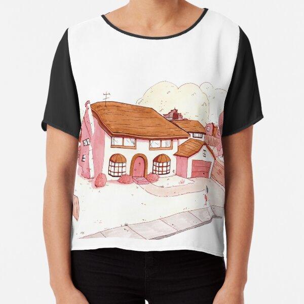 Fanart casa de los Simpson by heleacla Blusa