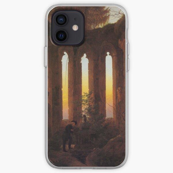 Abendliche Ruinen (Caspar David Friedrich) iPhone Flexible Hülle