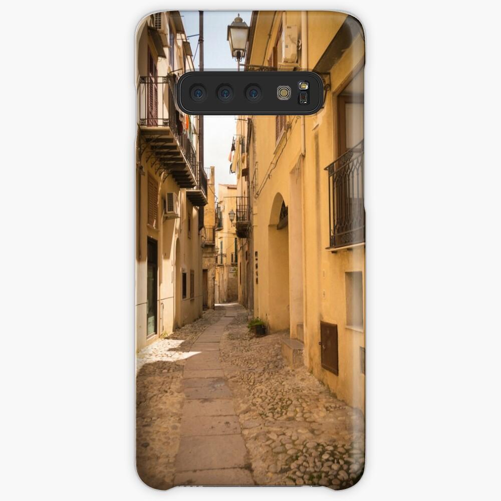 Streets of Palermo, Italy Samsung Galaxy Snap Case