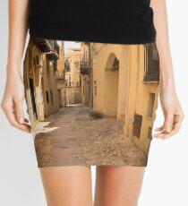 Streets of Palermo, Italy Mini Skirt