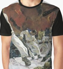 Great Patriotic War: on October 30, 1941, Heroic defense of #Sevastopol was started. The battle until 4 July 1942 was lasted. #Crimea #Russia #Крым #Севастополь #Россия #DefenseofSevastopol Graphic T-Shirt