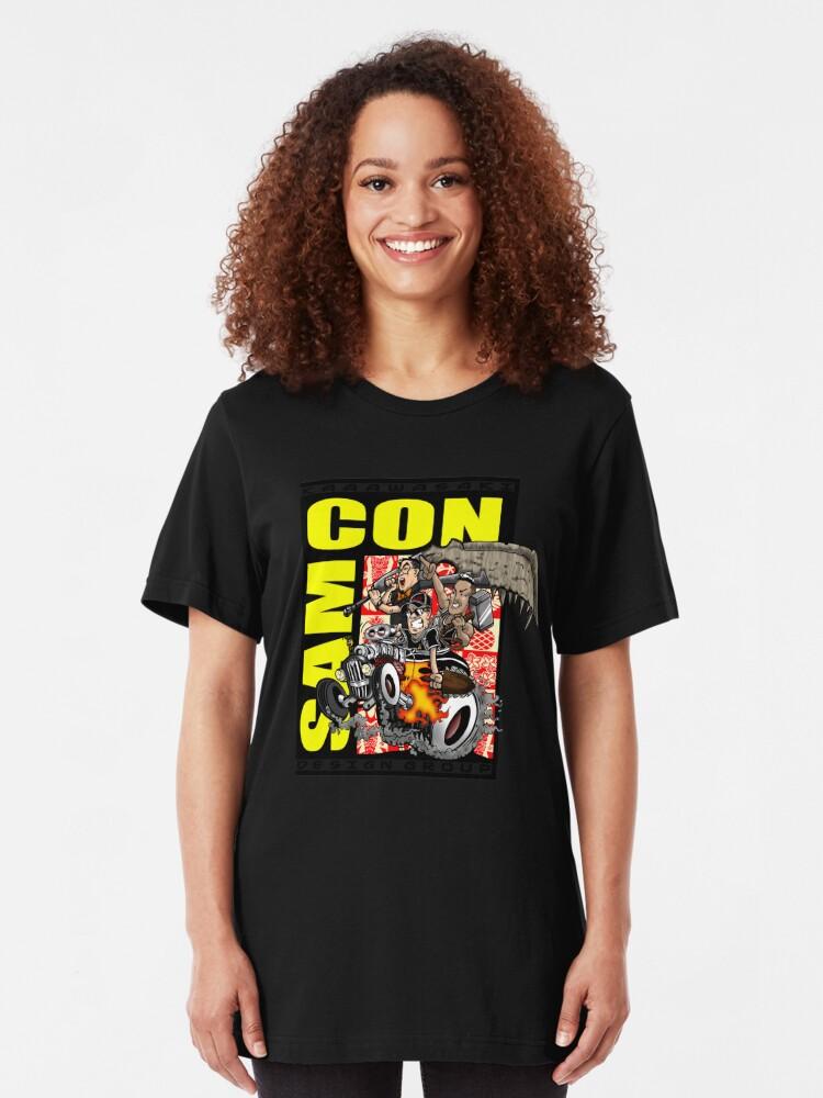 Alternate view of SAMCON 2018 Slim Fit T-Shirt