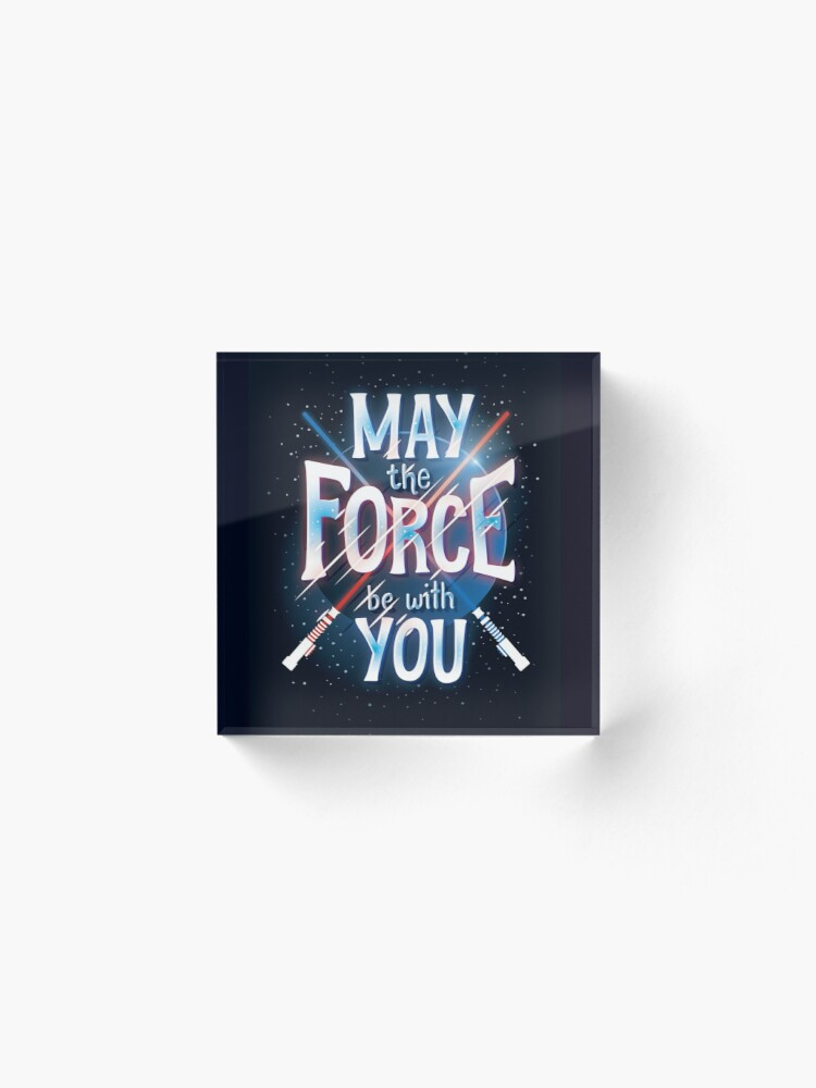 Alternate view of Force Acrylic Block