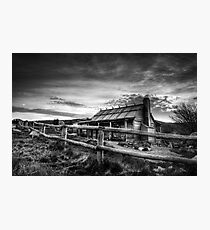 Craig's Hut, Mt Stirling Photographic Print