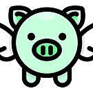 When Pigs Fly: Green by * Red Wolf