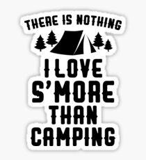 Pegatina No hay nada que me guste más que acampar