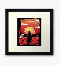 Way to nowhere Framed Print