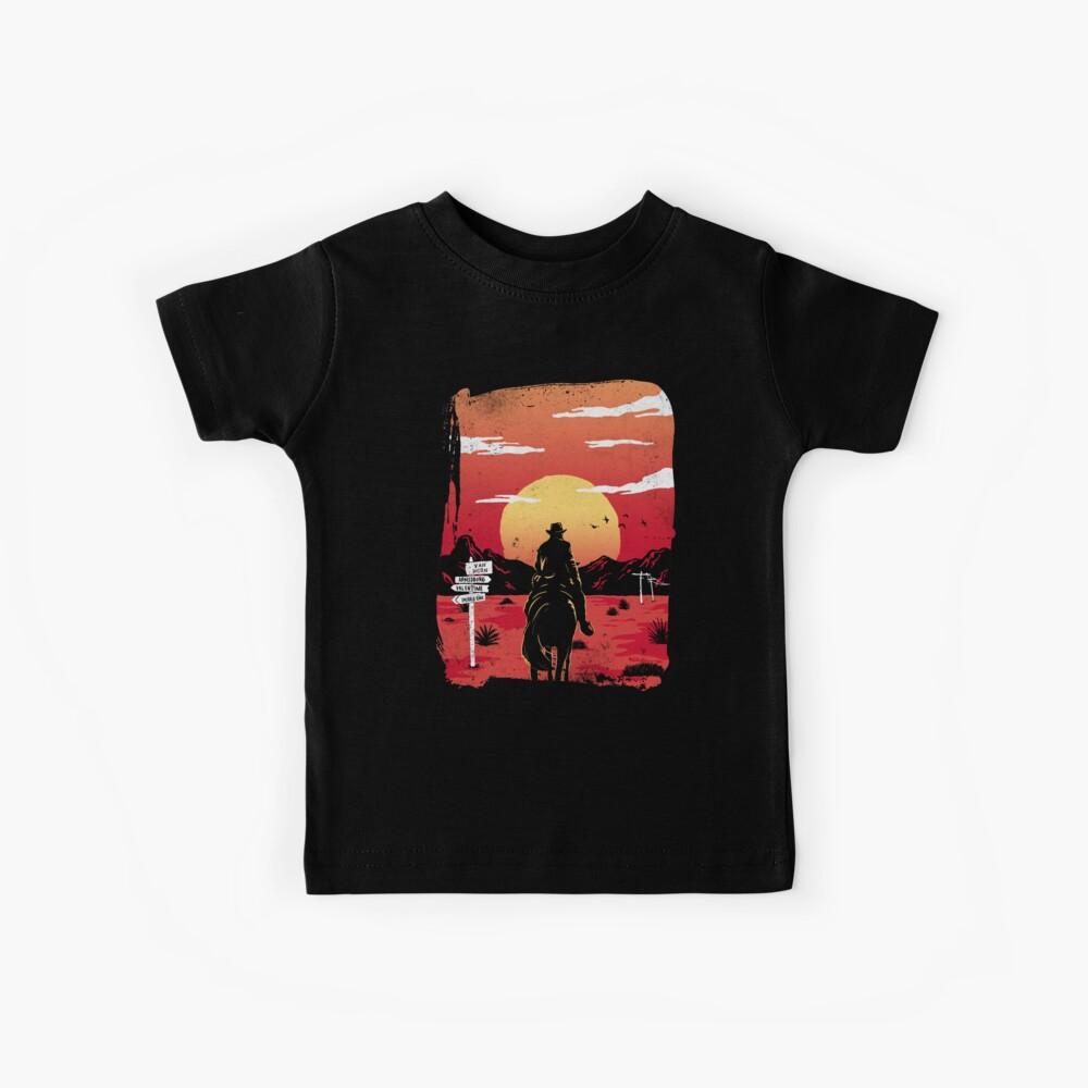 Weg nach nirgendwo Kinder T-Shirt