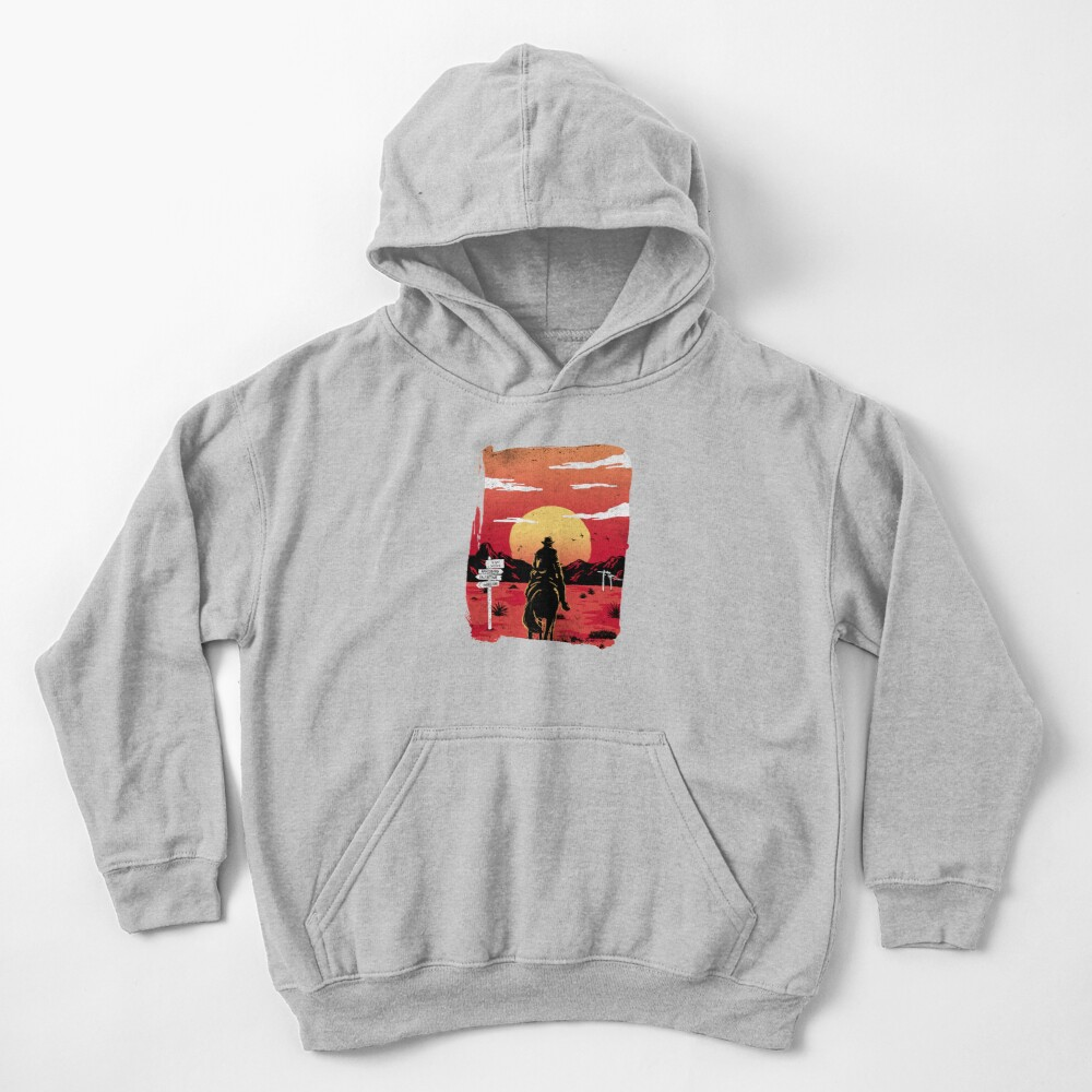 Way to nowhere Kids Pullover Hoodie