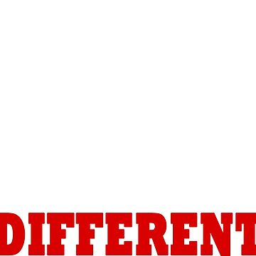 Be Different Designer T shirt by bithy20042000