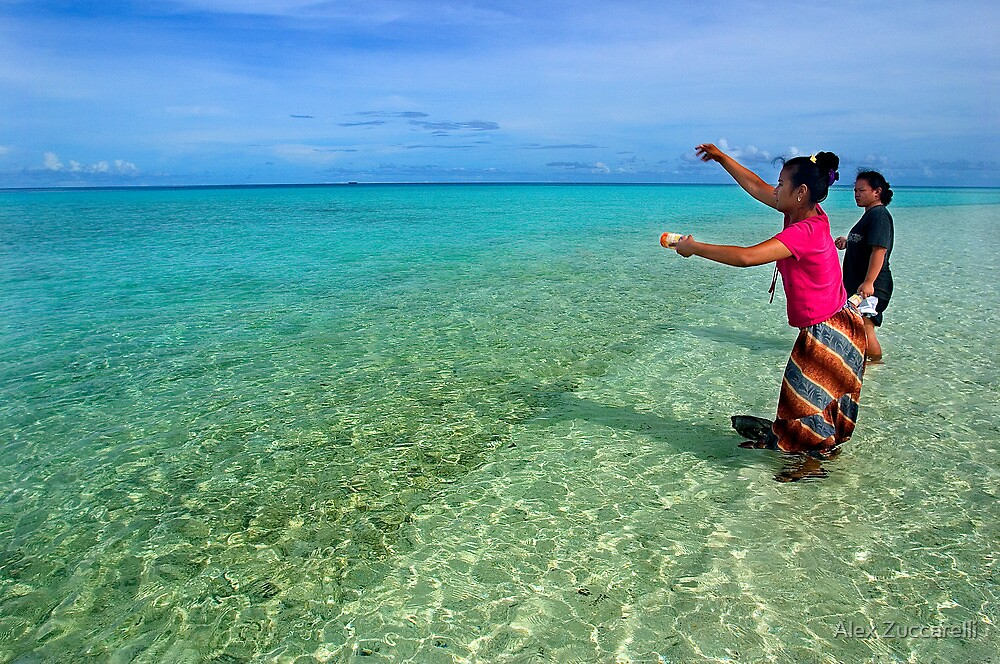 Quot Fishing Session Pohnpei Micronesia Quot By Alex Zuccarelli